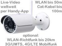 E ViSiTec Baustellekamera BW304 P&P65