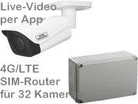 E 4G/LTE 3G/UMTS Mobilfunk-Baustellenkamera SNC441FBIFe AK328 Po