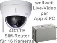 E 4G/LTE 3G/UMTS Mobilfunk-Überwachungskamera Set BW3060 AK162