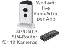 E 3G/UMTS Mobilfunkkamera-Set BW3020