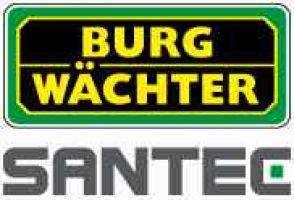 238.99 SANTEC Burg-Wächter AG VIDEO TECHNOLOGIES zur Videoüberwachung