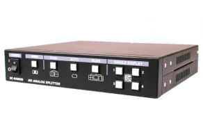 SeeEyes SC-04MHD Quad Splitter, 1920x1080, FBAS, AHD, TVI, CVI Eingang / FBAS, HDMI, VGA Ausgang
