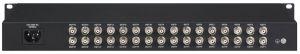 """SANTEC HDCVI-2690 16 auf 32 CVI Distributor 1U Gehause (19"""") / 230VAC"""
