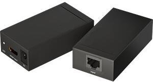 163.07 EuroTECH Konverter/Übertrager HDMI über Netzwerkkabel Cat.5/6 bis 60m (Medienkonverter, Wandler, Extender)