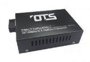 OT Systems EC1111-A Medienkonverter, 1 Port Multi Mode,10/100Base-TX nach 100Base-FX, 2km, SC